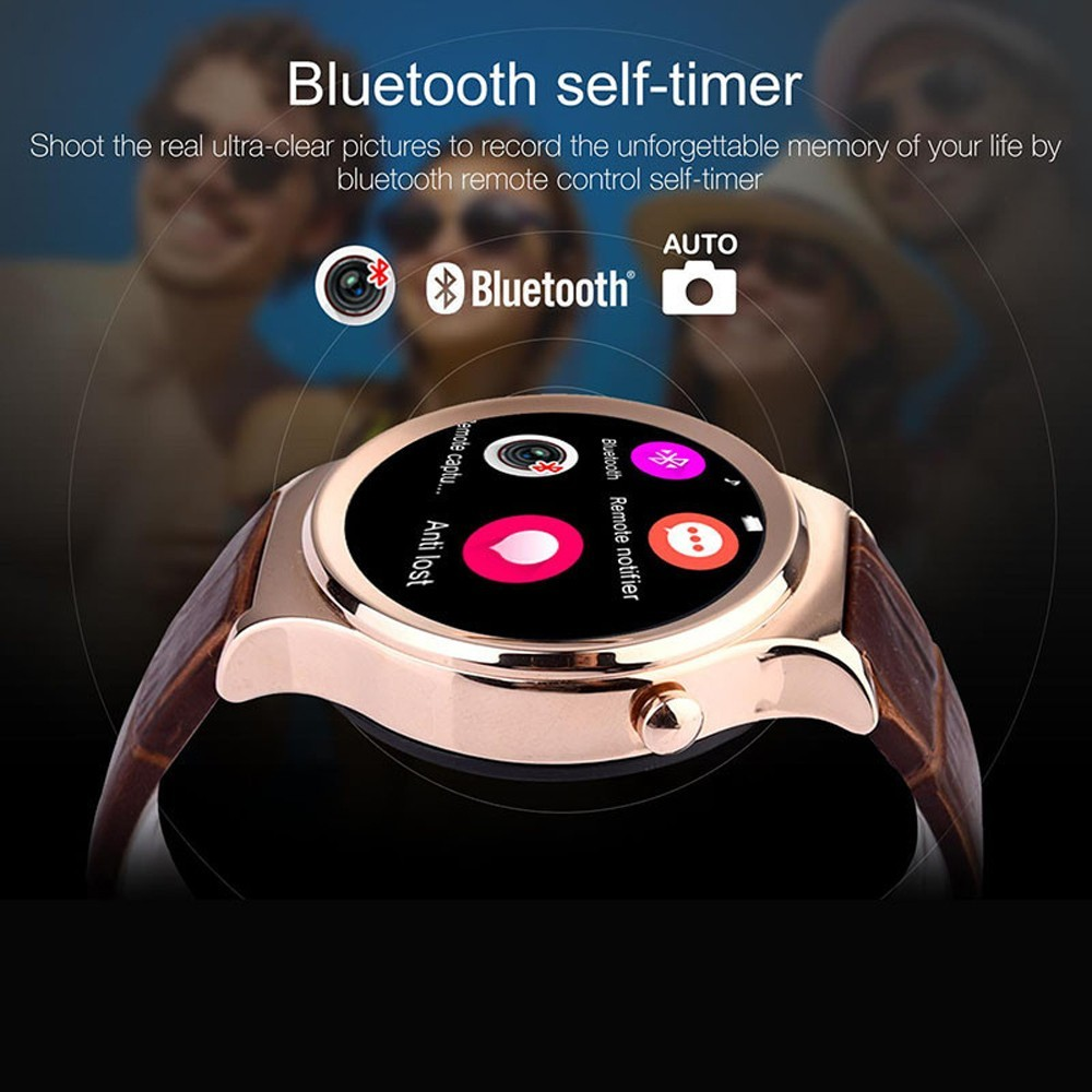 Original Xgody Smart Watches with Leather Wristband smartwatch for Samsung HTC Huawei LG Xiaomi Android Phone in Stock