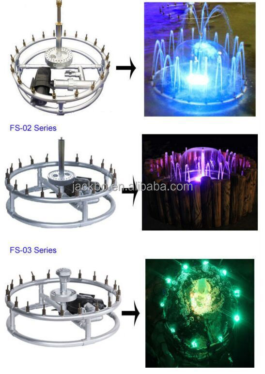 The most beautiful indoor or outdoor garden music dancing water fountain