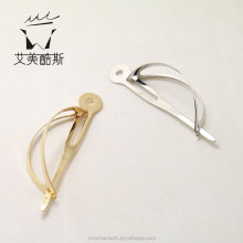 manufactuer price custom European style hollow out metal material hair sticks for female