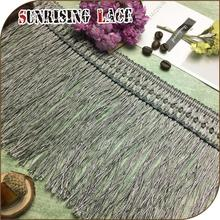 Luxury Silk Long Tassel Fringe Trim For Dresses