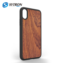 In Stock Retro Wood Phone Case for iphone 8 Customed Blank Mobile Phone Cover