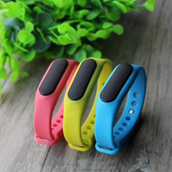Ble iBeacon Wrist Band Rechargeable Bluetooth Beacon Bracelet