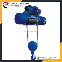 Wire rope electric hoist three phase generator 110v 220v 380v