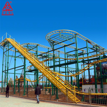 Manufacturer 16 Seats Amusement Rides Spinning Coaster Games Roller Coaster