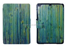 NEW DESIGN bamboo/wood tpu pc case for ipad mini,bamboo for ipad mini case