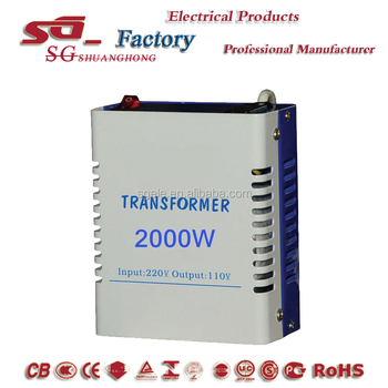 sto-2kw 110v step down transformer
