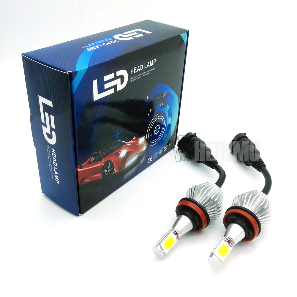 h8 h9 h11 LED Headlight Conversion Kit 80W 6000K 12V/24V Car Xenon White Lamp High Low Kit Globes Bulbs H1 H4 9005 9006 H7 HB3