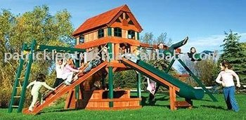 Carnival Clubhouse Design #10 Swing Sets