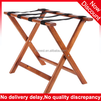 Duralble hotel room folding wooden luggage rack