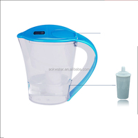 water filter pitcher/ Activated Carbon/water pitcher CE,RoHS,FDA Certification and Pitcher Use alkaline water filter pitcher