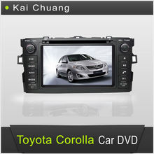 7 inch Double din car dvd gps for Toyota Corolla 2012