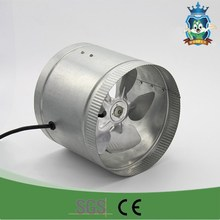 High speed dc axial blower air conditioner exhaust fan