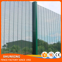 Fast Delivery Welded Wire Mesh 358 High Security Wire Fence Panel