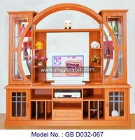 MDF TV Cabinets Modern Showcase Stand Home Furniture, wooden furniture lcd tv cabinet design, wood cabinet with showcase