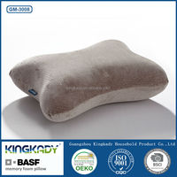 2015 New Slow ReboundBone Shape Micro Beads Travel Pillow Memory Foam Neck Pillows Memory Foam Waist Protecting Pillow