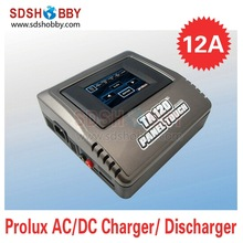 Prolux TA120 AC/DC 12A Panel Touch Charger LiPo LiFe NiMH Battery Charger European Standard Charger