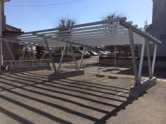 New Energy System of Build On Parking Lot Carport System