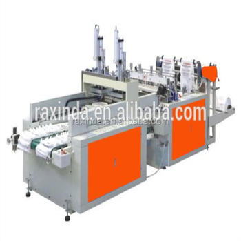 XD-Automatic High Speed Double Channels T-shirt Bag Making Machine