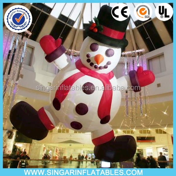 Big inflatable snowman for christmas /promotion sale