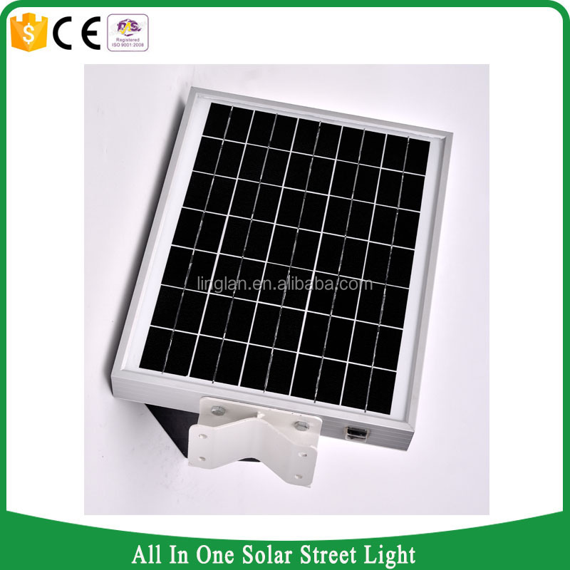 12W led street light all in one, 12w solar light for garden