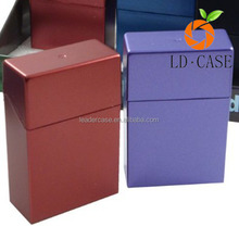 high Quality Promotional Metal Leather Cigarette Case/Cigarette Box