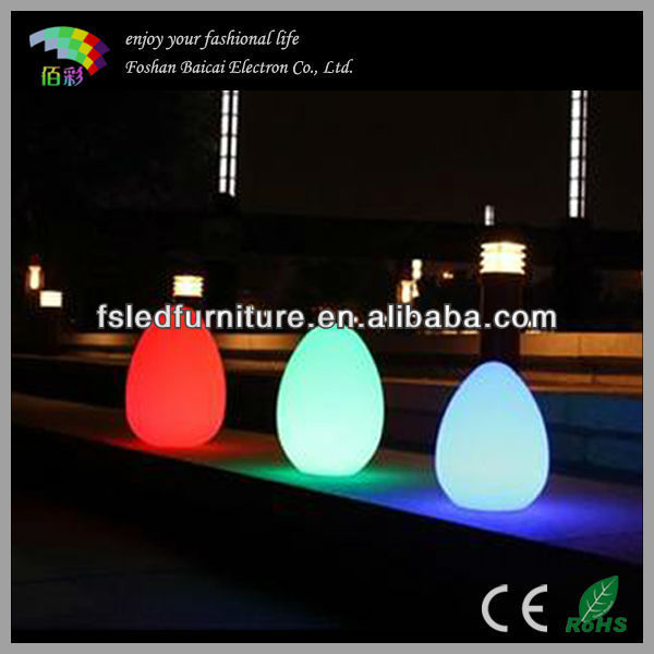 Magic Led Rechargeable Egg Light With 16 Colors