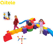 Intelligent plastic connecting toys for kids educational