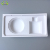 Hot selling waterproof cellphone pulp tray,biodegradable sugarcane tray,paper packing tray