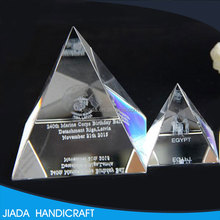 Hot selling Energy Healing Small Feng Shui Egypt Egyptian clear quartz Crystal Pyramid