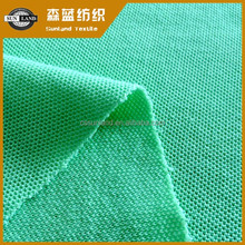 50 cotton 50 polyester blend knit single pique fabric