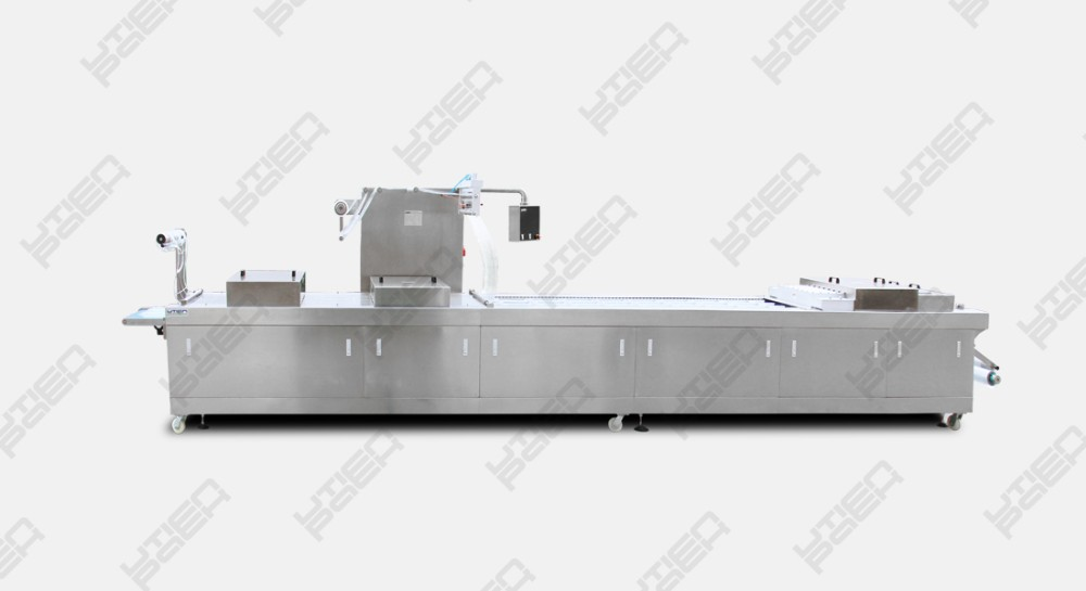 Automatic thermoformer sausage vacuum packing machine