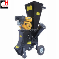 196cc mini wood chipper shredder