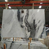 High quality polished Cloud Grey marble,white marble,super thin marble slab