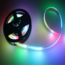 Addressable full color DC5V 50 50 rgb apa102 led strip