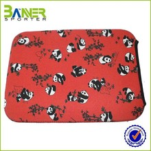 Professional cartoon printing neoprene laptop sleeve
