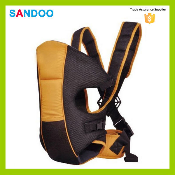 2016 China high quality baby kids 3 ways carrier, polyester colorful baby carrier backpack for 4-24 month baby
