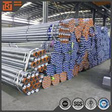 Low Carbon Fiber Galvanized Steel Tube S235JR Q235 St37 Factory Supply