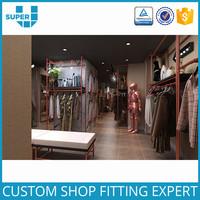 Tailor Showroom Store Furniture Garment Shop Interior Design
