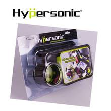 Hypersonic HPA597 universal car headrest mount holder folding cup tray table