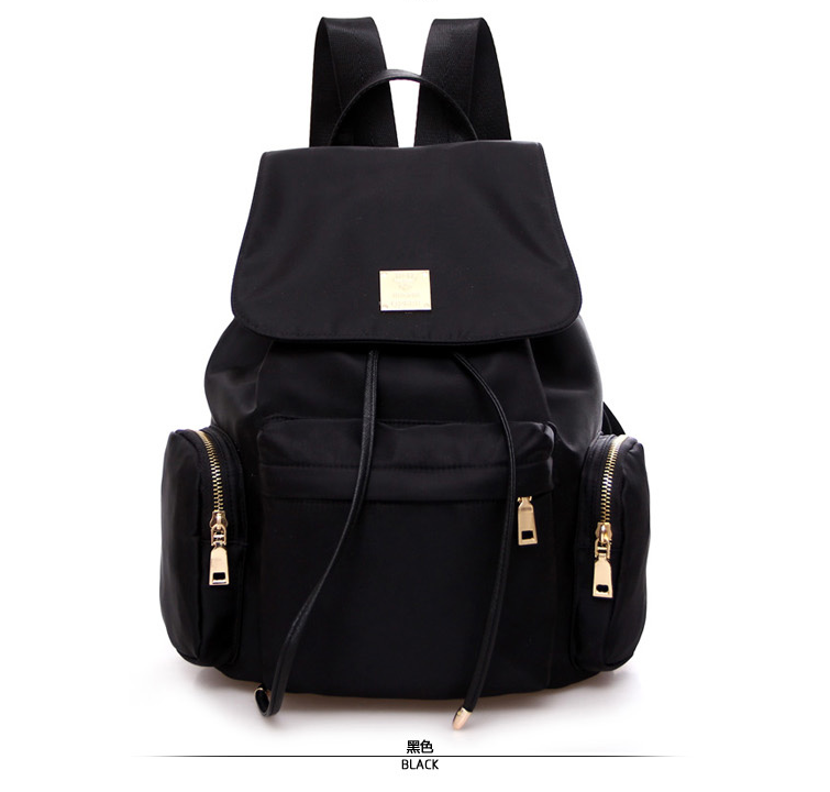 2016 Hot Sell Fashional Nylon Backpack Canvas Backpack School bag