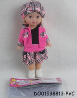 Hot sale 10 inch fashion beautiful lovely girl dolls toy DO01598813-PVC