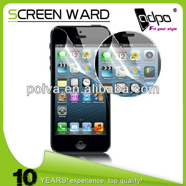 10 Years Manufacturer Ultra Clear Screen Protection For iphone 5