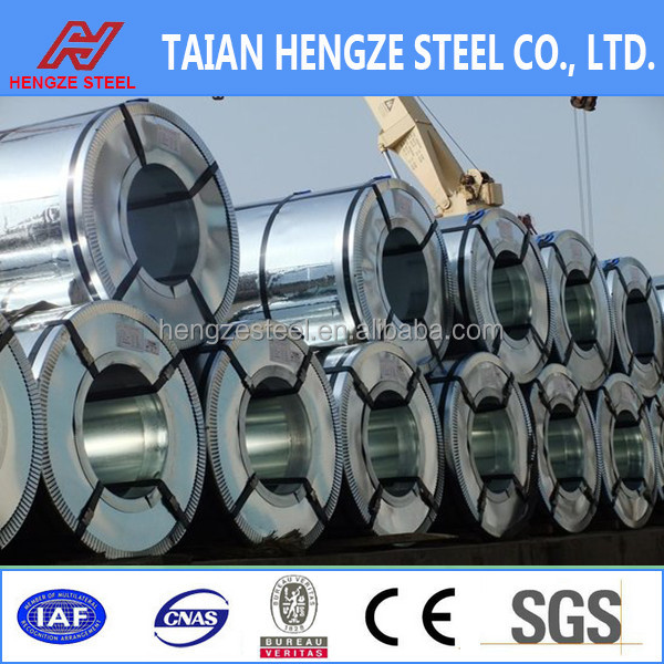 high Yield strength and Tensile strength galvanized steel coil