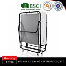 Good quality hospital lightweight double folding bed