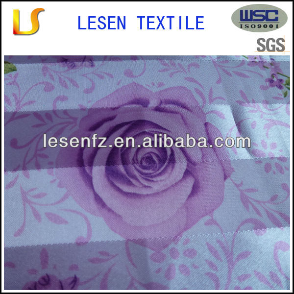 Lesen textile hot sale cheap printed polyester curtain fabric / fabric for curtains