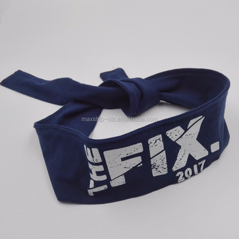 custom logo headband
