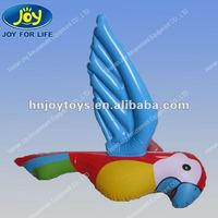 Inflatable Beautiful Parrot, PVC Inflatable Animal Toys for Kids