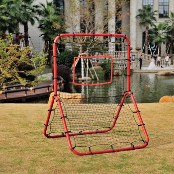Metal Adjustable baseball hand goal