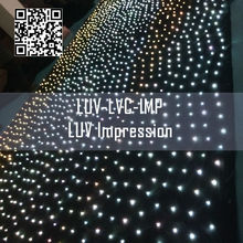 led vision software / provided software video cloth
