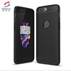 Carbon fiber tpu brush mobile phone case cover for oneplus 5,black for oneplus 5 case anti shock